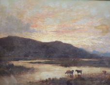 Alfred Walter Williams (1824-1905)oil on canvas'Nr Sligiehan, Isle of Skye'initialled and dated