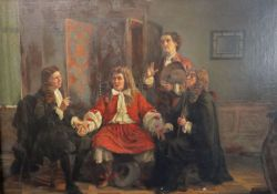 English School (19th century)oil on canvas'The Patient'35 x 25in.CONDITION: Relined 20 - 30 years