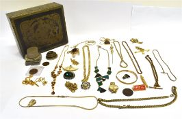 A QUANTITY OF SMALL WHITE METAL ITEMS To include a filigree pickle fork marked 830, a very small
