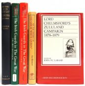 [BOOKS]. MILITARY Five assorted works, including Ffrench Blake, Lt.-Col. R.L.V. A History of the