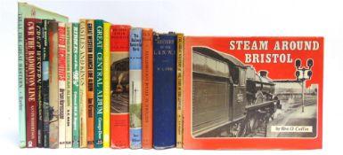 [BOOKS]. TRANSPORT, RAILWAY Eighteen assorted works.