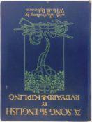 [BOOKS]. ILLUSTRATED Kipling, Rudyard, & Robinson, W. Heath, illustrator. A Song of the English,