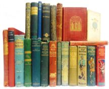 [BOOKS]. MISCELLANEOUS Twenty-two assorted works, many with decorative cloth bindings, including