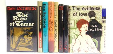 [BOOKS]. MISCELLANEOUS Jacobson, Dan. Nine works, including The Evidence of Love, first edition,