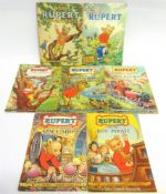 [BOOKS]. CHILDRENS Rupert Annuals, 1952 & 1958 (both non price-clipped, with 'This Book Belongs