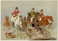 [HUNTING]. AFTER JOHN FREDERICK HERRING, SENIOR (BRITISH, 1795-1865) 'The right sort'; and 'The