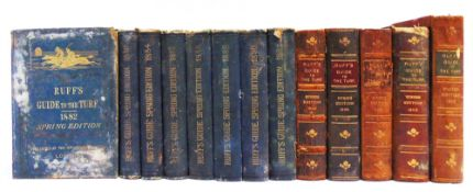 [BOOKS]. SPORTING, HORSE-RACING Ruff's Guide to the Turf, 1882; 1883; 1884; 1887; 1888; 1889;