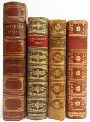 [BOOKS]. BINDINGS Four assorted works, comprising Calvert, A.F., & Haddon, Trevor, illustrator.