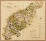 [MAP]. NORTHAMPTONSHIRE Smith, Charles (1768-1854), 'A New Map of the County of Northampton',