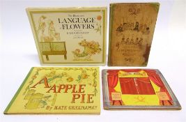 [BOOKS]. CHILDRENS, ILLUSTRATED Greenaway, Kate. A Apple Pie, Warne, London, no date, cloth-backed