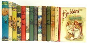 [BOOKS]. CHILDRENS Twenty-five assorted works, including Wonder Books.