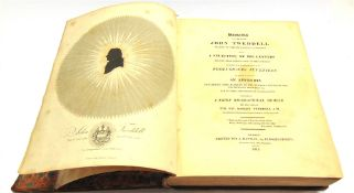[BOOKS]. MISCELLANEOUS Tweddell, Rev. Robert, editor. Remains of the Late John Tweddell... being A