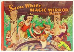 [BOOKS]. CHILDRENS Disney, Walt. Snow White Magic Mirror Book and the Story of Snow White and the