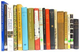 [BOOKS]. BIBLIOGRAPHY Eighteen assorted works, of book illustration, printing, collecting and