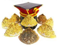 ASSORTED MILITARY UNIFORM Eliz. II modern era, comprising a Lancers Band lance cap, complete with