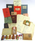 A SECOND WORLD WAR & LATER GROUP OF SEVEN MEDALS TO F.J.B. GREEN, MERCHANT NAVY comprising the