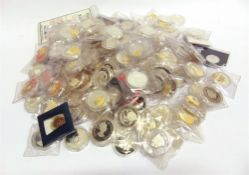 ASSORTED SILVER & OTHER COINAGE (approximately 140 individual coins).