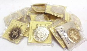 ASSORTED - TWENTY COMMONWEALTH & OTHER SILVER COINS