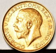 GREAT BRITAIN - GEORGE V (1910-1936), SOVEREIGN, 1911