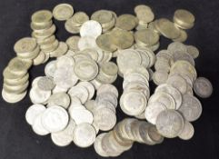 GREAT BRITAIN - ASSORTED HALF-SILVER FLORINS, SHILLINGS & SIXPENCES, 1920-46 mainly George V, (total