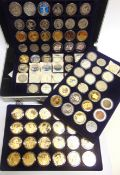 ASSORTED COLLECTOR'S COINS in a large storage case, (total 91 coins).