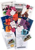 Varied collection of Flat/NH racecards and horse racing books, including Aintree Grand National