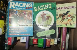 Horse racing books, including 3 signed copies, by Doug Smith, John Francome and Frankie Dettori,