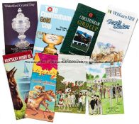 An extensive collection of racecards, wide selection from UK racecourses including Goodwood,