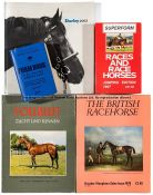 Varied collection of racing magazines, brochures, form books, bloodstock sale catalogues, souvenir