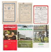 Group of Haydock Park racecards, dating between 1913 and 2018 and comprising one each from 1913