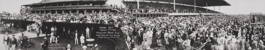 Two horse racing photographs, the first a high-quality b&w photograph of eventual winners Corbiere