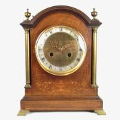 Large chiming mantle clock.