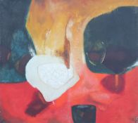 Williams, Aubrey 1926-1991 Guyanese, Dying Volcano.