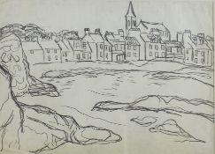 MacTaggart, William 1835-1910 British View to the Village