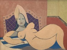 Picasso, Pablo follower of: Reclining Nude.