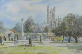 Nash S.J. Toby 1891-1960 British AR Canterbury Cathedral.