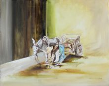 Witcomb, Philip Contemporary British AR, Donkey and Cart.