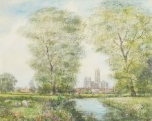 Nash, S.J.Toby 1891-196 British AR, Canterbury Cathedral.
