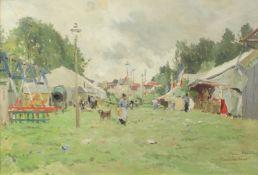 Vauthier, Pierre Louis, Leger 1845-1916 French Fete a St Ouen.