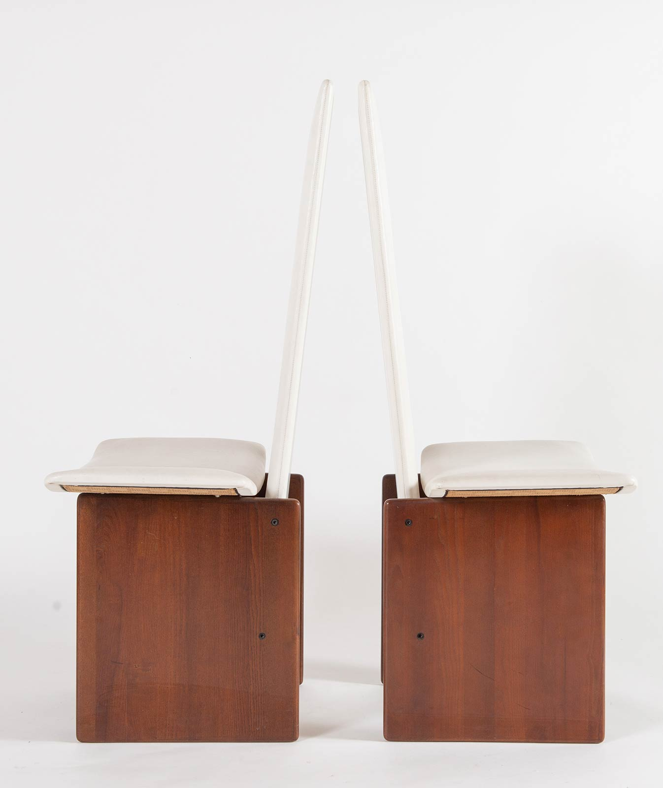 Kazuhide Takahama per Gavina, Sei sedie, Anni '70. - Image 4 of 6