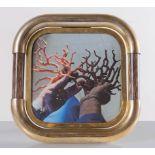 Tommaso Barbi, Cornice porta-foto a sezione quadrata con bordi smussati, Anni '70.
