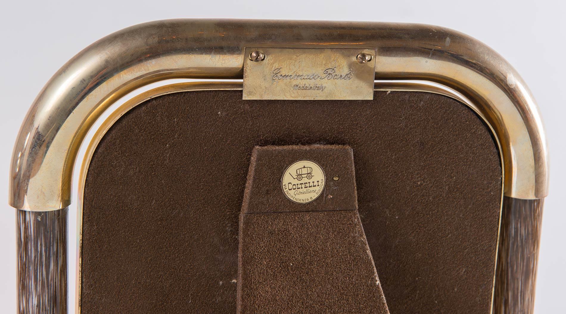 Tommaso Barbi, Cornice porta-foto a sezione quadrata con bordi smussati, Anni '70. - Image 3 of 3