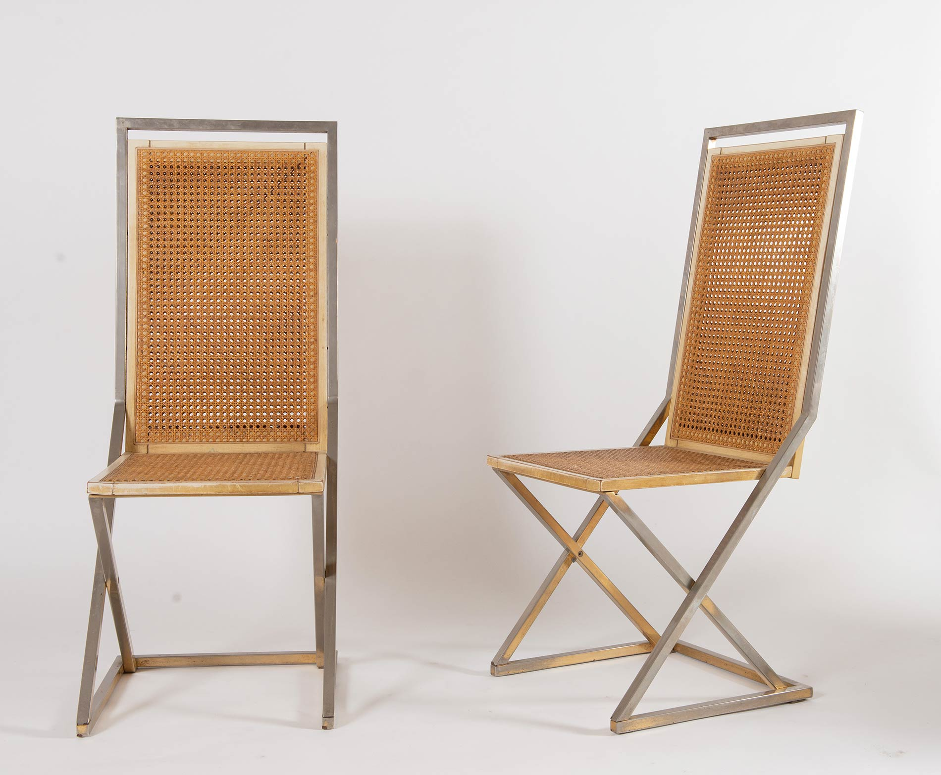 Fratelli Turri – Carugo, Sei sedie, Anni '70. - Image 3 of 4