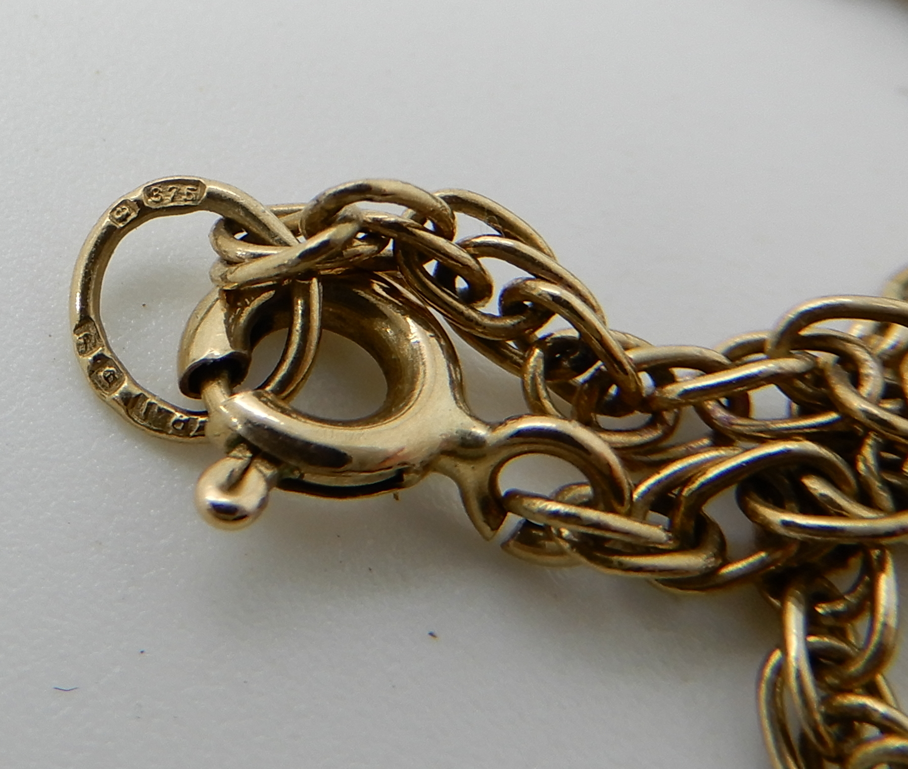 Lot 36 - A 9ct gold rope chain, length 78cm, weight 8.6gms Condition Report: Available upon request