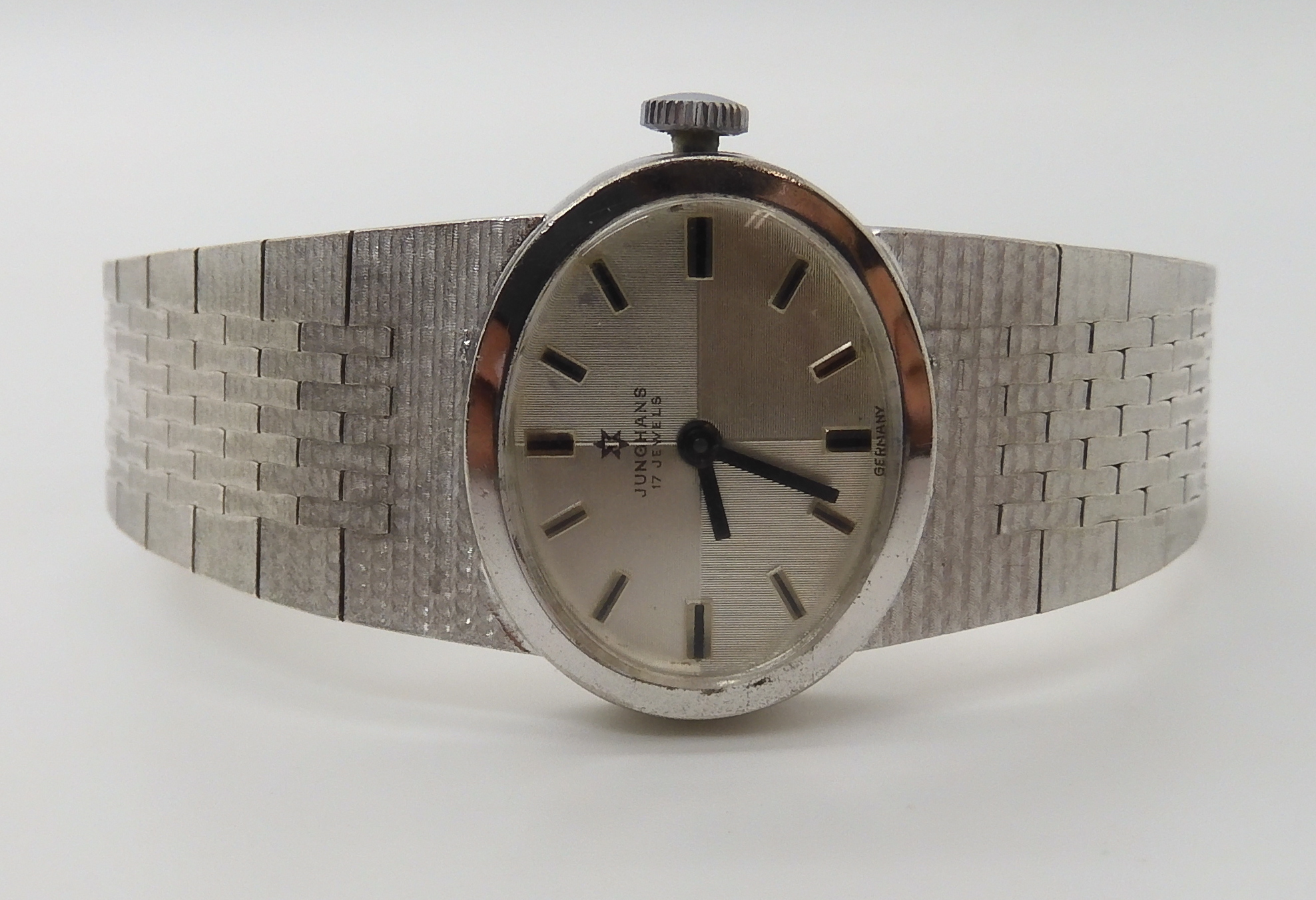 Lot 768 - A ladies silver Junghans watch Condition Report: Not available for this lot