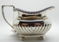 A silver cream jug, rubbed marks, 181gms Condition Report: Available upon request