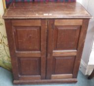 A mahogany collectors cabinet, 94cm high x 82cm wide x 47cm deep Condition Report: Available upon