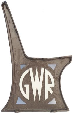 GWR Roundel x2 GWR cast iron seat ends x2 with the GWR Roundel cast into each end. In very good