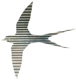 Swallow ex 91009 Saint Nicholas Stainless steel Intercity Swallow, left hand facing, as removed from