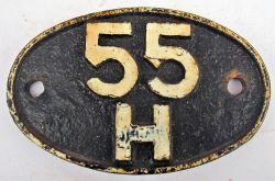Shed Plate 55H Leeds Neville Hill 1960-1966